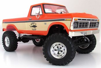 1/10 SCA-1E 1976 FORD F150 TRUCK RTR, wheel base 324mm