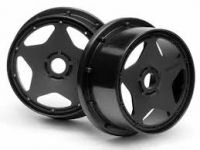 BAJA 5B - SUPER STAR WHEEL BLACK (120X60MM/2PCS)