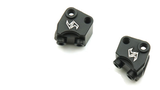 Aluminum Lower Shock Suspension Link Mount 4 pcs Black for Axial SCX10 II