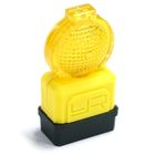 Scale Traffic Barricade Light Accessory 4pcs 1/10