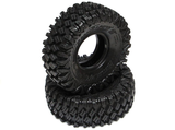 HUSTLER M/T Xtreme 1.9 MC1 Rock Crawling Tires 4.19x1.46 with 2-Stage Foams Super Soft