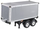 1/14 20 Foot Container Trailer Kit, Tamiya compatible