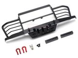 1/10  Metal Front Bumper with Towing Hooks for D90, D110, Traxxas TRX4 Defender