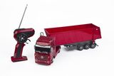 Mercedes-Benz Actros Kipplaster 1:32 rot - red - rouge 2.4 GHz