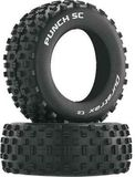 Duratrax - Punch SC - 1-10 Short Course Tyre Only - C2 - ASC SC10 4x4 - 1 Pair