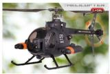 RC Hubschrauber / Helicopter FM70 Scale   (Level 2)