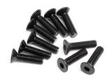 FLAT HEAD SCREW M3x12mm (HEX SOCKET/10pcs)