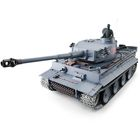 1:16 RTR German Tiger I RC Heavy Tank Incl. 2.4GHz Radio, Battery, Charger / Metal driving bears, Ta
