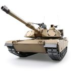 1:16 U.S.A M1A2 Abrams RC Main Battle Tank Incl. 2.4GHz Radio, Battery, Charger / Metal driving boxe