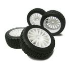 15-Spoke Wheel with Tire(White/With Inner)