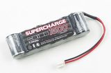 Supercharge 1600 Micro Pack - 7.2V Side by Side (Tamiya, Asso, X-Ray Plug)